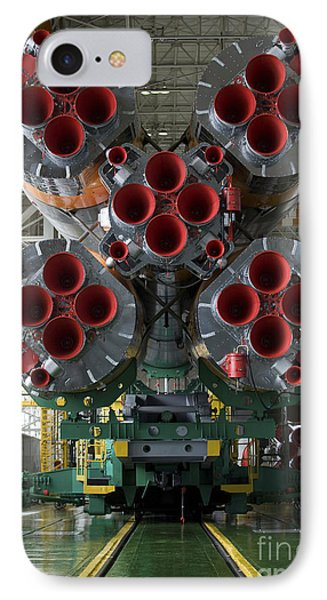 The Boosters Of The Soyuz Tma-14 Phone Case by Stocktrek Images