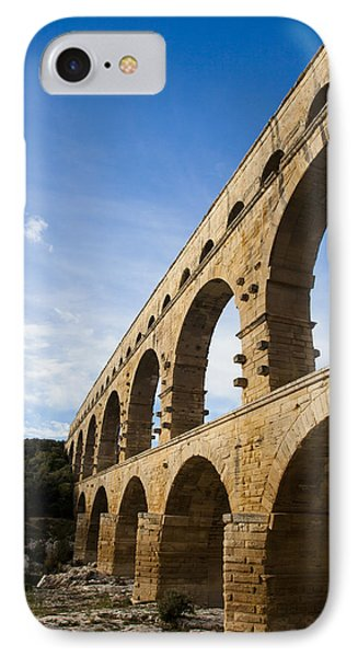 The Famous Pont Du Gare In France Phone Case by Taylor S. Kennedy