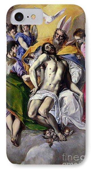The Trinity Phone Case by El Greco