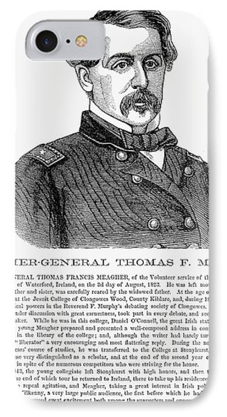 Thomas Francis Meagher Phone Case by Granger