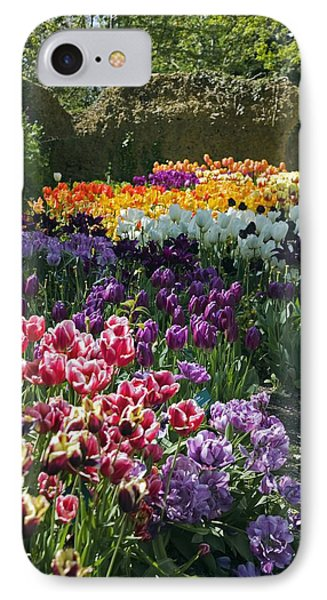 Tulip (tulipa Sp.) Borders Phone Case by Dr Keith Wheeler