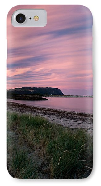 Twilight After A Sunset At A Beach Phone Case by Ulrich Schade