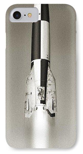 V-2 Prototype Rocket Launch, 1942 Phone Case by Detlev Van Ravenswaay