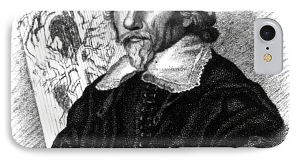William Harvey, English Physician Phone Case by Science Source