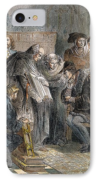 William Tyndale (1492?-1536) Phone Case by Granger
