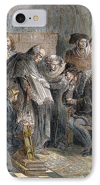 William Tyndale (1492?-1536) IPhone Case