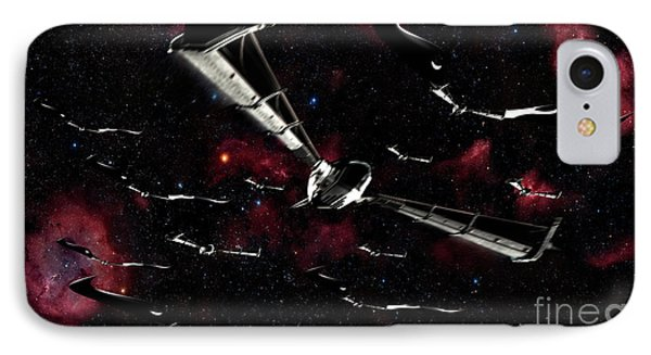 Xeelee Nightfighters, Inspired Phone Case by Rhys Taylor