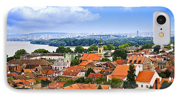 Zemun Rooftops In Belgrade IPhone Case