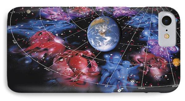 Zodiac Signs Phone Case by Detlev Van Ravenswaay