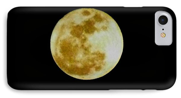 IPhone Case featuring the photograph 2011 Full Moon by Maria Urso