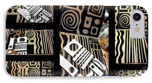 2012 Studio Play - Handmade Printing Plates IPhone Case