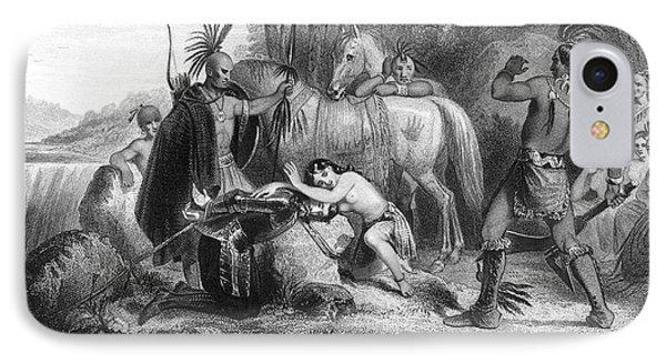 Pocahontas (1595?-1617) Phone Case by Granger
