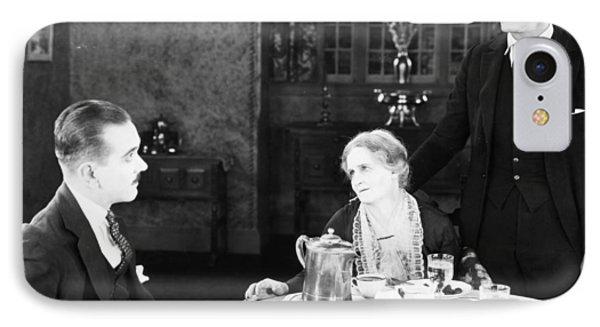Film Still: Eating & Drinking Phone Case by Granger