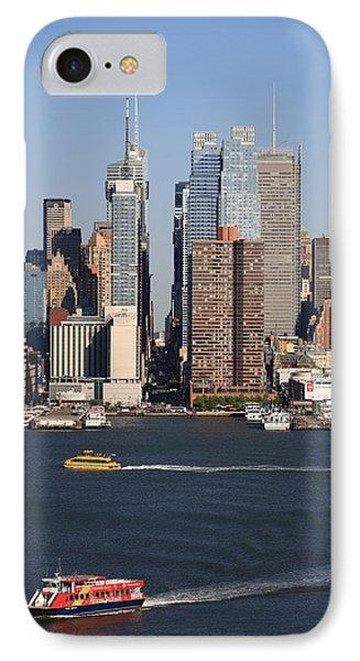 New York City Skyline Phone Case by Frank Romeo
