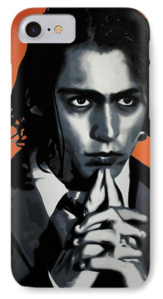 - Johnny - IPhone Case by Luis Ludzska