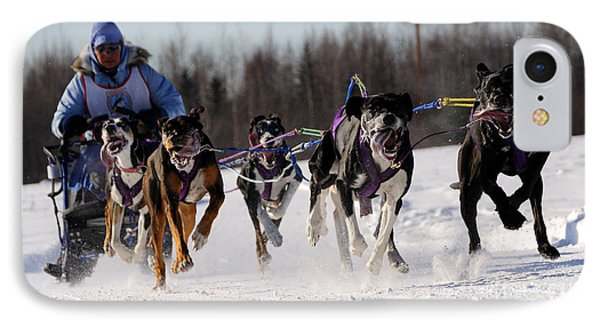 2011 Limited North American Sled Dog Race Phone Case by Gary Whitton