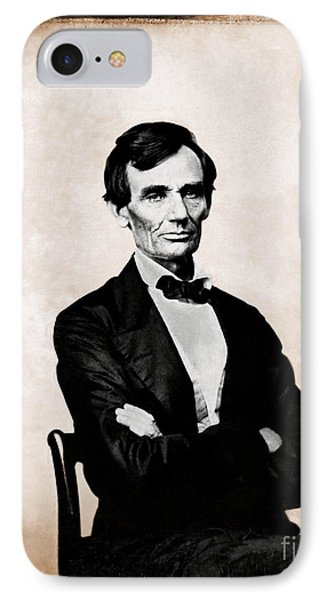 Abraham Lincoln, 16th American President Phone Case by Photo Researchers