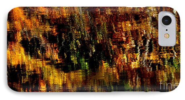 Abstract Babcock State Park IPhone Case