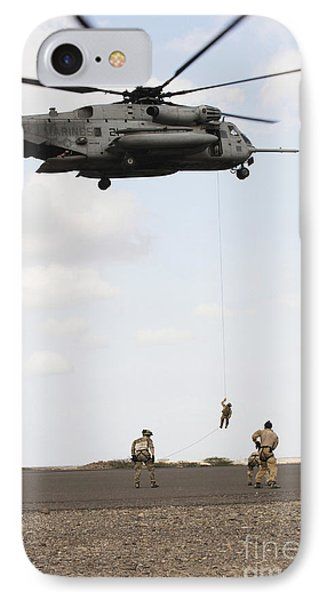 Air Force Pararescuemen Conduct Phone Case by Stocktrek Images