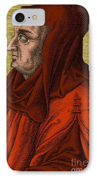 Albertus Magnus, Medieval Philosopher Phone Case by Science Source