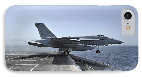 An Fa-18e Super Hornet Launches Phone Case by Stocktrek Images