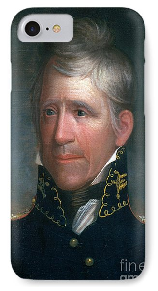 Andrew Jackson, 7th American President Phone Case by Photo Researchers