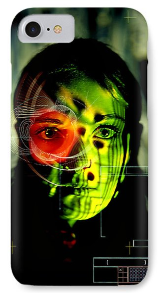 Android Robot Phone Case by Neal Grundy