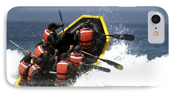 Basic Underwater Demolitionseal Phone Case by Stocktrek Images