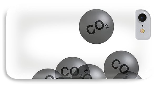 Carbon Dioxide And Climate Change Phone Case by Victor De Schwanberg
