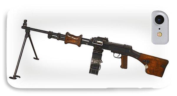 Chinese Type 56 Light Machine Gun Phone Case by Andrew Chittock