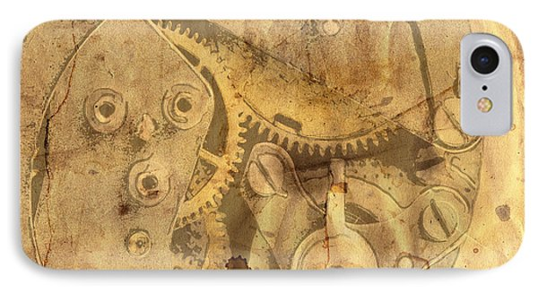 Clockwork Mechanism Phone Case by Michal Boubin