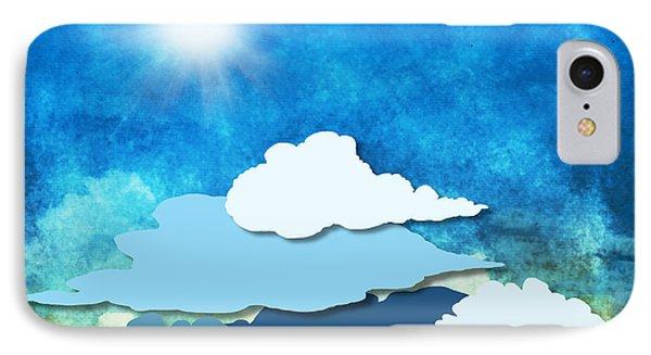 Cloud And Sky Phone Case by Setsiri Silapasuwanchai