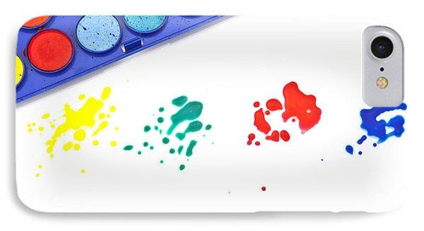 Color Splash Phone Case by Joana Kruse