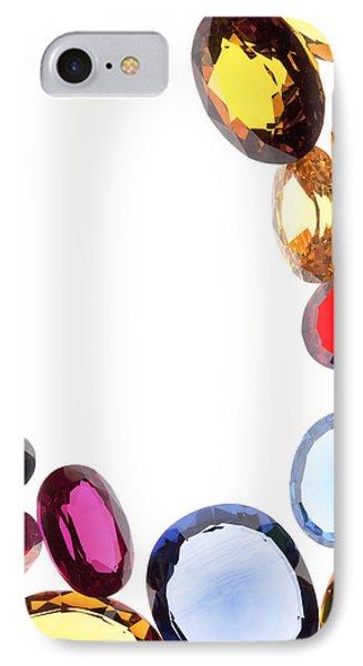 Colorful Gems Phone Case by Setsiri Silapasuwanchai
