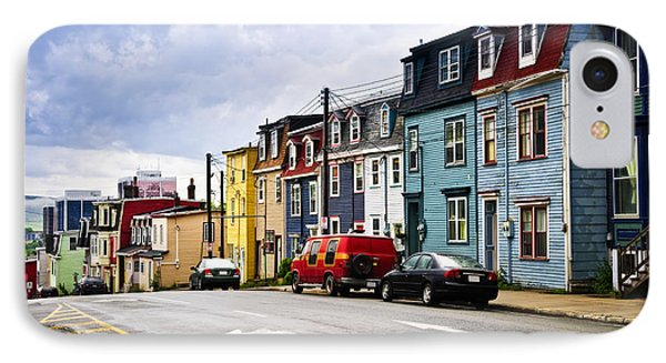Colorful Houses In St. John's Newfoundland Phone Case by Elena Elisseeva