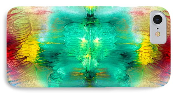 Colorful Water Color Painting IPhone Case by Sumit Mehndiratta