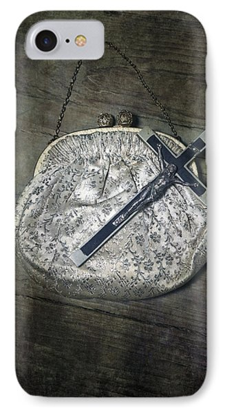 Crucifix Phone Case by Joana Kruse