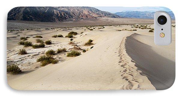 Death Valley National Park Mesquite Flat Sand Dunes Phone Case by Eva Kaufman