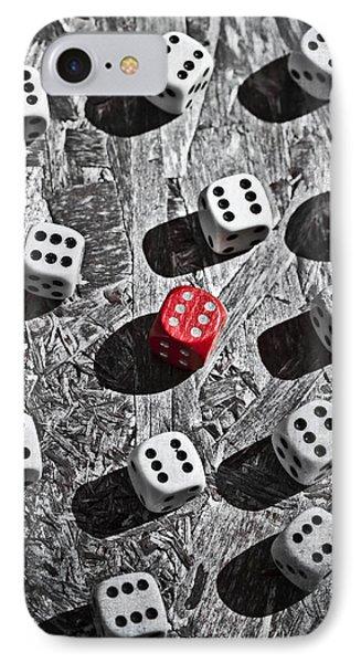 Dice Phone Case by Joana Kruse