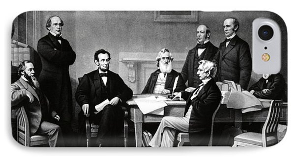 Emancipation Proclamation Phone Case by Photo Researchers