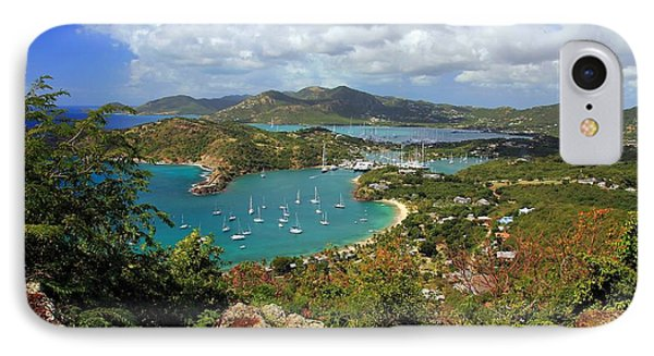 English Harbor Antigua Phone Case by Sophie Vigneault