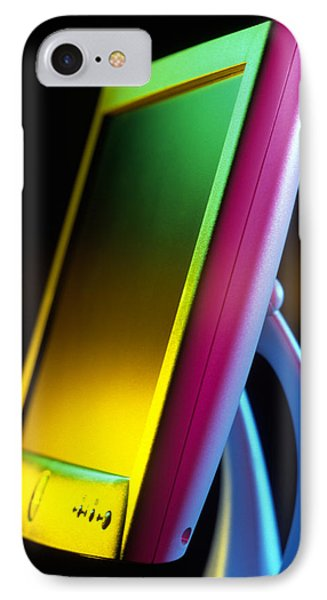 Flat-panel Computer Screen IPhone Case by Tek Image