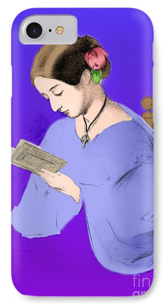 Florence Nightingale, English Nurse Phone Case by Science Source