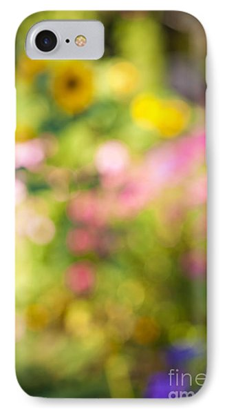 Flower Garden In Sunshine IPhone Case by Elena Elisseeva