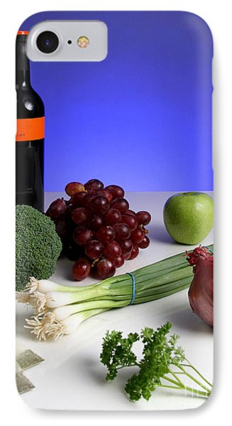 Foods Rich In Quercetin IPhone Case by Photo Researchers, Inc.