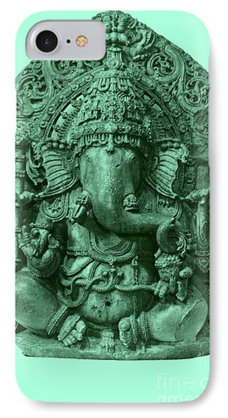Ganesha, Hindu God Phone Case by Photo Researchers