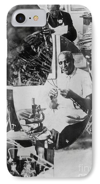 George W. Carver, African-american Phone Case by Science Source