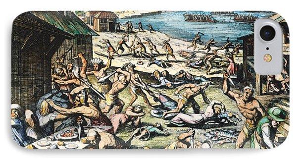 Jamestown: Massacre, 1622 Phone Case by Granger