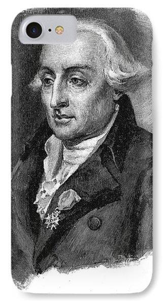 Joseph Louis Lagrange Phone Case by Granger