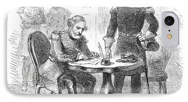 Lees Surrender, 1865 Phone Case by Granger